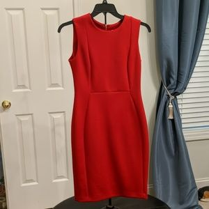 Calvin Klein stretch sheath dress